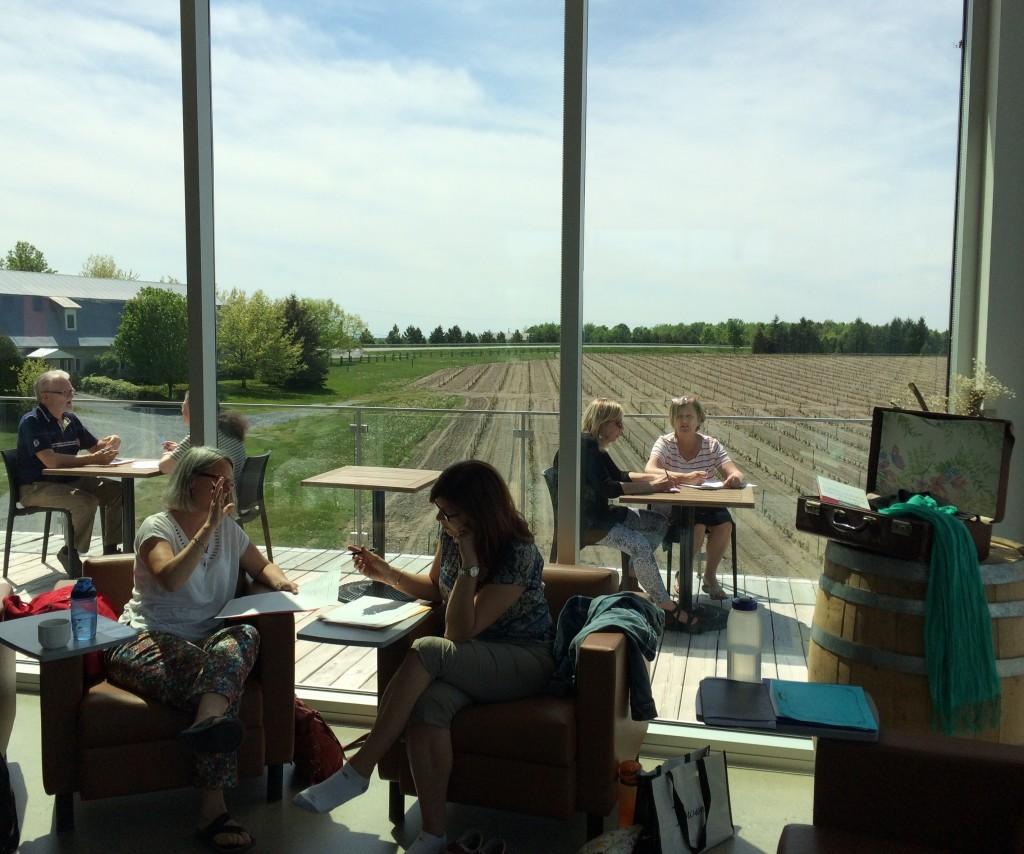 Atelier Second Souffle - Vignoble de l'Orpailleur, mai 2016